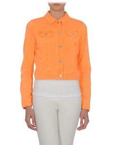 Orange!!!! denim jacket