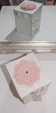 MonRoy / Svadobná darčeková krabička Scrapbooks, Decorative Boxes, Wedding, Home Decor, Valentines Day Weddings, Decoration Home, Room Decor, Scrapbooking, Weddings