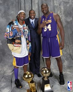 Kobe Bryant- Magic Johnson- Shaquille O'Neal