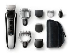 PHILIPS - QG3371/16 - Tondeuse multi-styles 7 en 1 - Fonctions barbe, moustache, oreilles, nez, tondeuse de précision, sabot barbe de 3 jours, tondeuse cheveux