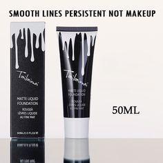 Professional Brand Foundation Makeup Waterproof Whitening Concealer Brighten 50ml Minerals Base BB Face Foundation Cream