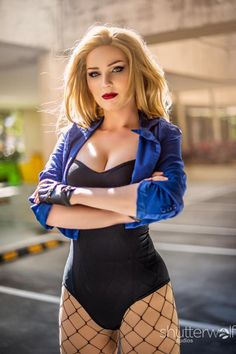 Black Canary cosplay by Jawjarrose Dc Cosplay, Best Cosplay, Cosplay Girls, Cosplay Costumes, Awesome Cosplay, Beautiful Women Pictures, Black Canary, People Dress, Photography Women