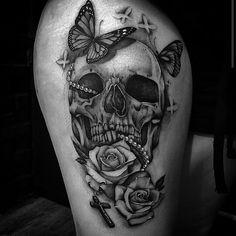 40 Interesting Skull Tattoo Designs For You Skulls Tattoos