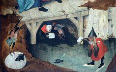 Hieronymus Bosch, Temptations of Saint Anthony | Flickr - Photo Sharing!