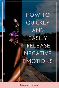 Click through to learn how to release negative emotions. spirituality meditation healing yoga