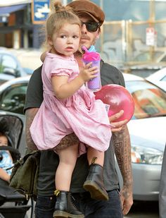 EstiloDF » Duelo de estilos entre baby it girls: Harper Beckham y North West
