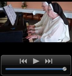 Nuns playing Happy Birthday song :) ; birthday humor; funny birthday