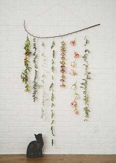Flower Garland Wall..