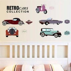 If you like Retro Cars. Buy Now & Decor in a easy way with Wall Decals