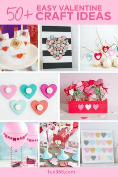 Check out our 50+ adorable craft ideas to inspire you for Valentine's Day.