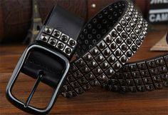 punk rivet belt - Google Search