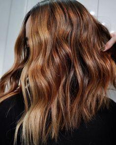 Honey Brown Hair, Chocolate Brown Hair, Light Brown Hair, Dark Hair, Amber Hair Colors, Fall Hair Colors, Hair Colour, Glow Hair, Blonde Hair With Highlights