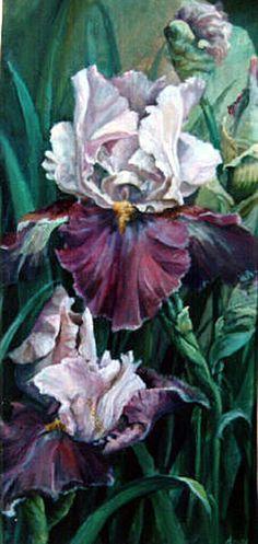 Purple Iris Pat Durgin