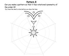 Share: Title: Rangoli Reflective and Rotational Symmetry Description: An activity based on Rangoli Patterns to provide opportunities for illustrating reflective and rotational symmetry of order … Symmetry Worksheets, Symmetry Activities, Math Patterns, Rangoli Patterns, Junior High Math, Rotational Symmetry, Symmetry Art, Pattern Worksheet, Ideas