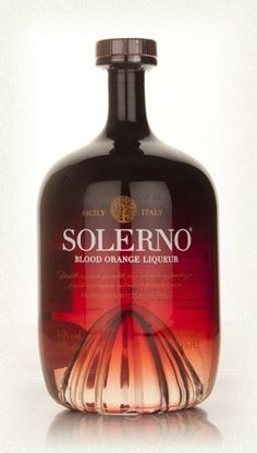 Mix this with Prosecco...delicious! Solerno Blood Orange Liqueur from Sicily - they're making an offering you can't refuse!