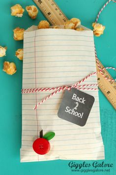Notebook Paper Bags – School Treat