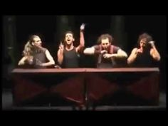 Very funny and brilliant teamwork hand percussion by Mayumana