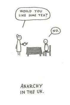 Anarchia w Anglii :)