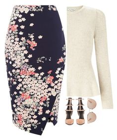 """""""Sunday Morning Service"""" by kateremington-1 ❤ liked on Polyvore featuring Miss Selfridge, Oasis, Kendall + Kylie and Christian Dior"""