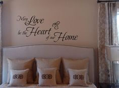 Heart of Our Home Wall Decal