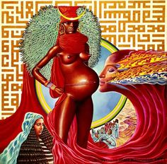 "Mati Klarwein – Surrealist [Miles Davis' -""Bitches Brew""] Cover ..."