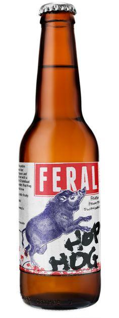 Australia's #1 craft beer - Feral Hop Hog. Fantastic Citrus and Pine Notes - a must try.  http://www.beercartel.com.au/Feral-Hop-Hog