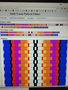 Ravelry is a community site, an organizational tool, and a yarn & pattern database for knitters and crocheters. Inkle Weaving Patterns, Loom Weaving, Loom Patterns, Beading Patterns, Card Weaving, Tablet Weaving, Crochet Adult Hat, Inkle Loom, Textile Texture