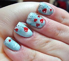 february nails! love is in the air!