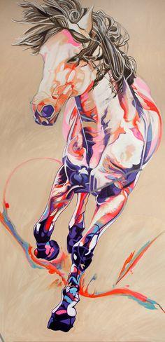 "Saatchi Online Artist: Yaheya Pasha; Acrylic 2013 Painting ""Matrix"""