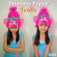 Check out this item in my Etsy shop https://www.etsy.com/listing/516136239/poppy-trolls-crochet-wig-hat-poppy-hat