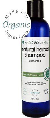Herbal Choice Mari Shampoo Unscented 236ml/ 8oz (Organic) * For more information, visit image link.