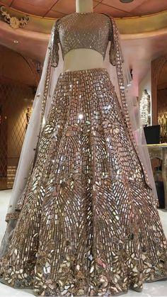 Custom Handmade luxury Bridal and party Wear outfits From India Designer Bridal Lehenga, Bridal Lehenga Choli, Saree, Indian Bridal Outfits, Indian Bridal Fashion, Indian Designer Outfits, Indian Bridal Wear, Desi Wedding Dresses, Pakistani Bridal Dresses