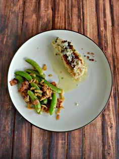 Like bacon? You'll love these Peas with Bacon and Crispy Onions!  #SundaySupper