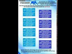 POWERHOUSE FEEDER Matrix Levels Explained Youtube, Youtubers, Youtube Movies