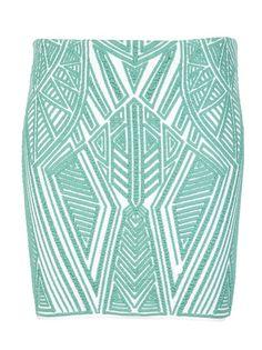 Rvn - Aztec skirt 1