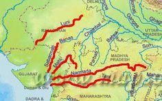 western flowing rivers