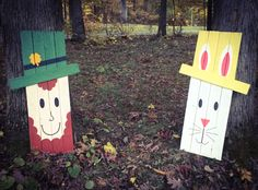 Reversible Easter and St. Patrick's Day sign