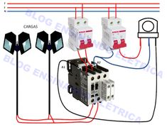 Como ligar fotocélula em um contator - Ensinando Elétrica | Dicas e Ensinamentos Electrical Circuit Diagram, Home Electrical Wiring, Electrical Projects, Electrical Installation, Electronics Projects, Solar Power System, Bedroom House Plans, Power Strip, Architecture
