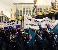 Demonstracja przeciw TTIP