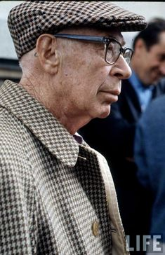 HENRY MILLER IN PARIS, 1969.