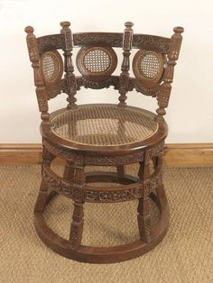 OnlineGalleries.com - Dutch Colonial Burgomaster Chair