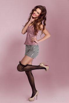 Pink by Vladimir Kocian Models, My Portfolio, Fasion, Stockings, Pose, Vorlage, Role Models, Socks, Modeling