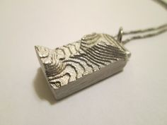 Apprentice @ Meriken Metals — Cuttlefish Casting: Texture as Ornament