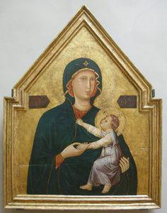 Maestro della Santa Cecilia - Madonna col bambino - 1290-95 ca. - J. Paul Getty Museum