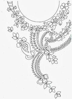 Resultado de imagen para moldes de bordado mexicano blusas