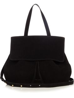 Mansur Gavriel Lady top-handle suede bag