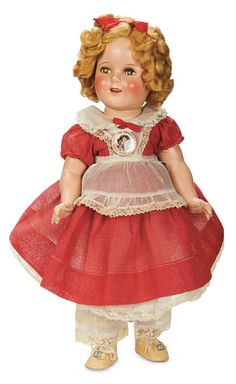 "American Composition ""Shirley Temple"" by Ideal as Little Miss Marker, circa 1934"
