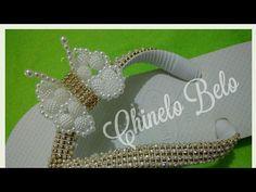 Como fazer borboleta de pérolas Maria Clara - Cícero Alencar - YouTube