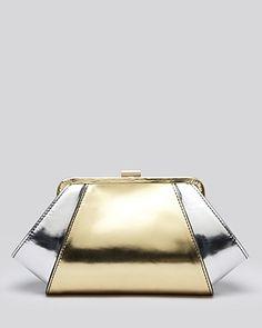 f528885e89d ZAC Zac Posen Clutch - Posen Metallic Sale - Handbags - Bloomingdale s
