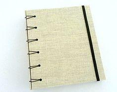 Caderno Belga em Linho